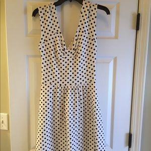 Postmark Polka Dot Cross Back Dress